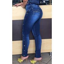 Calça Jeans Set For Estilo Pitbull Coz Alto Levanta Bumbum