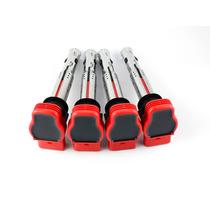 4 Bobinas Vermelhas R8 Audi A3, A4, Jetta,passat 06e905115e