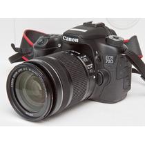 Câmera Canon 70d Wi-fi +18-135 Stm +sandisk16gb C/ Garantia