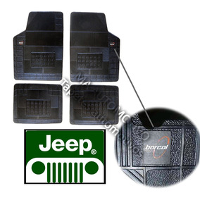 Grand Cherokee Jeep Tapete Borcol Borracha 4pçs