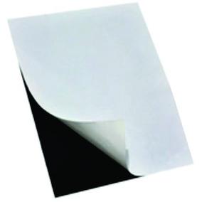 15 Folhas Imã P/ Lembrancinha Magnético Adesivada 0,3mm A4