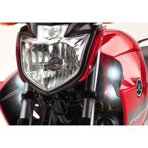 Farol Auxiliar Milha Neblina Led Moto Yamaha Fazer Ys 250