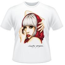 Camiseta Lady Gaga Mother Monster Pop Frente Verso Camisa #3