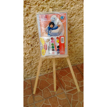 Caballete Paquete 2 Piezas Niño Y Niña Para Pintar