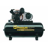 Compressor De Ar 30 Pés 250 Litros - 17 Libras Trifásico Weg