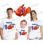Lebrança De Aniversário Nemo Camiseta 3 Un