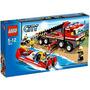 Juguete Lego City Set #7213 Offroad Fire Truck & Firebo