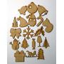Apliques Fibrofacil Adornos Navidad Arbolito 5 Cm X 20 Uni