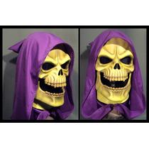 Skeletor Máscara De Látex Halloween Terror He-man