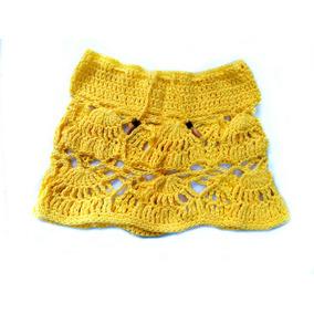 Polleras Tejidas Al Crochet - Oportunidad!