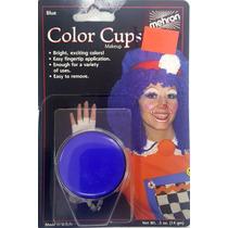 Maquillaje Mehron Azul Para Payasos