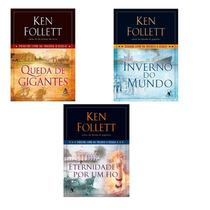 3 Livros Da Trilogia O Século De Ken Follett Novos Lacrados