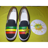 Panchas Zapatillas Rastafari Reggae