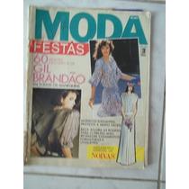 Revista Moda Mais Festas Sem Moldes Modelos Gil Brandão