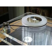 Correia Toca Disco Vinil 20 Cm Prato 13 Cm Diametro