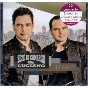 Cd Zezé Di Camargo & Luciano - Teorias - Novo***