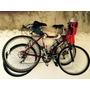 Soporte 2 Bici Dos Bicicletas Para Colgar Del Cuadro