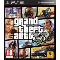 Gta V Grand Theft Auto 5 - Mídia Digital - Ps3 Código Psn