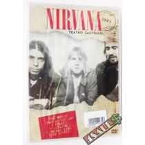Dvd Nirvana - Teatro Castello Roma 1991 - Rock