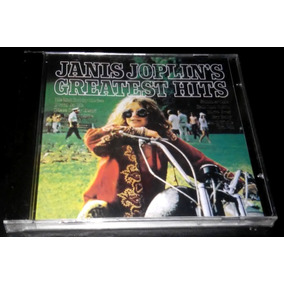 Cd Janis Joplin- Greatest Hits - Novo Lacrado