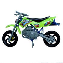 Moto Cross Brinquedo Infantil De Qualidade - 20 Cm