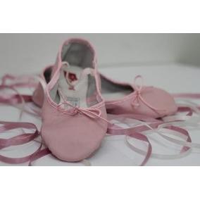 Zapatillas De Ballet Y Danza Media Punta En Cuero Sporting