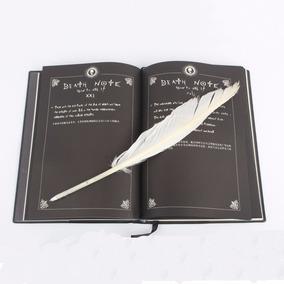 Colecionável Notebook Death Note 21 Cm Frete Grátis