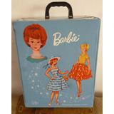 Antiguo Maletin Barbie Mattel Año 1964