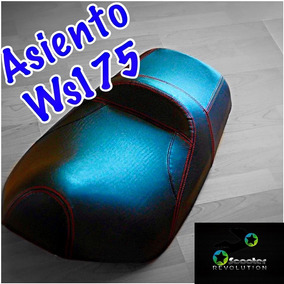 Asiento Motoneta Italika Ws175 Ws150 Vento Ruda Nuevo!