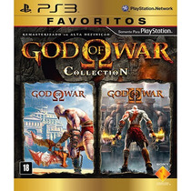 God Of War Collection 1 E 2 - Ps3 Gow - Original