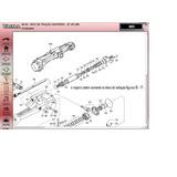 Reparo Cilindro Direção Trator Valtra Massey Eixo Zf Apl350