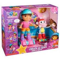Dora, A Aventureira Patinadora E Botas- Fisher-price