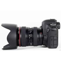 Câmera Canon Eos 6d + 24-105mm - Nova E Original C/ Garanti