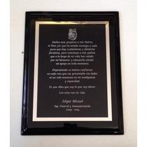 Reconocimientos Agradecimientos Diplomas Placas