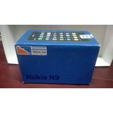 Nokia N9 - Caja Vacia - Valorice Su Equipo Al Vender