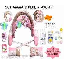Kit Avent + Almohada Amamamantar Gym Y Mas!!!13 Productos!!!