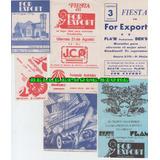 Lote Tarjetas De Boliche For Export - Ramos Años 80 Al 82