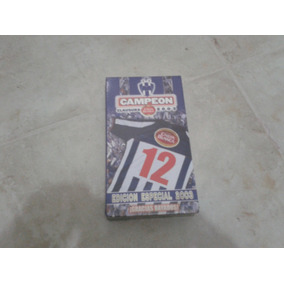 Vhs De Coleccion Monterrey Rayados Campeon 2003 Nuevo Cerrad