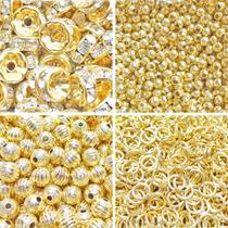10 Gr Chapa De Oro Componente, Rondel, Tubo, Bola O Argolla.