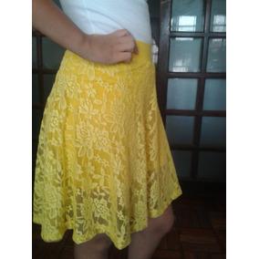 Shorts Saia De Renda Tamanho Único