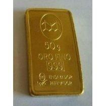 Lingotes De Oro 999 De Banco Ciudad De 5 Grs En Adelante