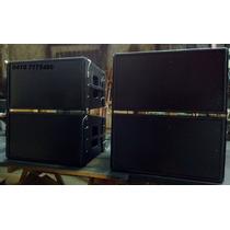 Diseño Y Fabricación De Line Array,monitores, Bajos,