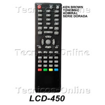Control Remoto Tv Lcd Ken Brown Admiral 3831