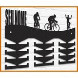 Porta Medalhas Modelo Ciclismo Personalizado Mdf Pintado