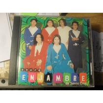 Cd-grupo Enjambre-cumbia-onda Green-sombras-fuego-mario Luis