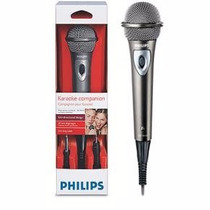 Microfono Karaoke Con Cable + Adaptador Philips Sbc Md150/00