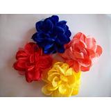Flor De Tela Todos Los Colores!!!