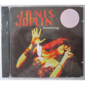 Cd Janis Joplin 18 Essential Songs