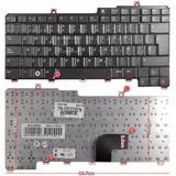 Teclado Nuevo En Español Para Dell Latitude D520 Color Negro