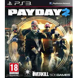 Pay Day 2 * Ps3 * Digital * Playstation 3 * Tenelo H O Y!!!!
